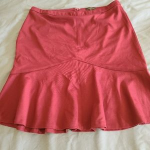 Limited red skirt size 14